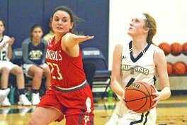 Anna McKee scored a season-high 28 points in Father McGivney's loss at Wesclin.