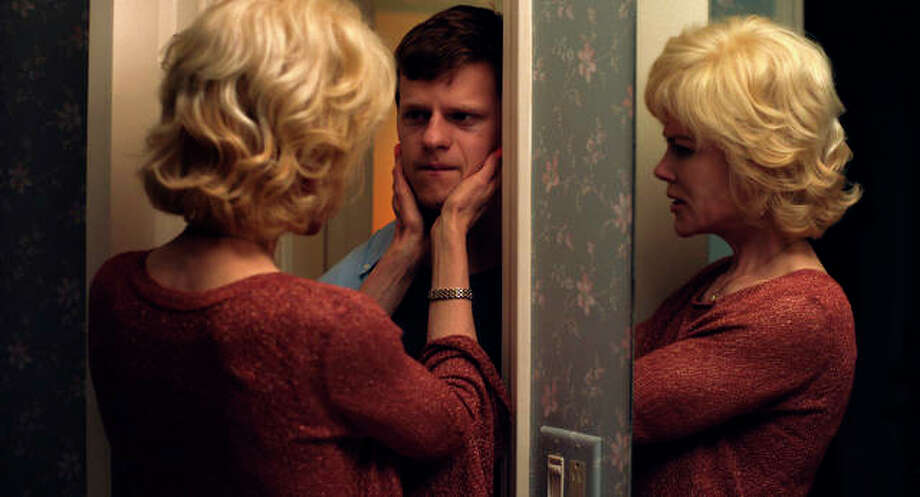 "This image released by Focus Features shows Nicole Kidman, left, and Lucas Hedges in a scene from ""Boy Erased."" On Thursday, Dec. 6, 2018, Hedges was nominated for a Golden Globe award for lead actor in a motion picture drama for his role in the film. The 76th Golden Globe Awards will be held on Sunday, Jan. 6. Photo: Focus Features Via AP"