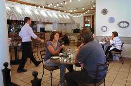 Scene at the Olive Garden in Stonestown
