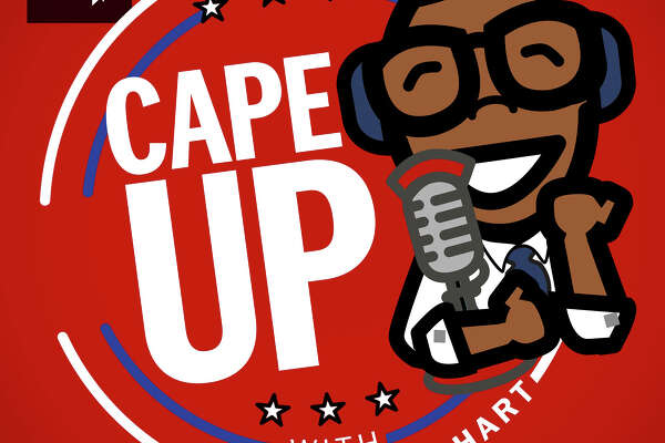Logo for Cape Up podcast