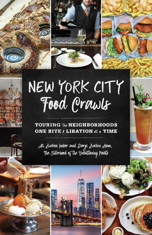 Book cover of New York City Food Crawls. Photo: Contributed By Publisher /