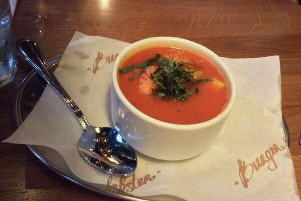 Lobster Gazpacho from Burger & Lobster.