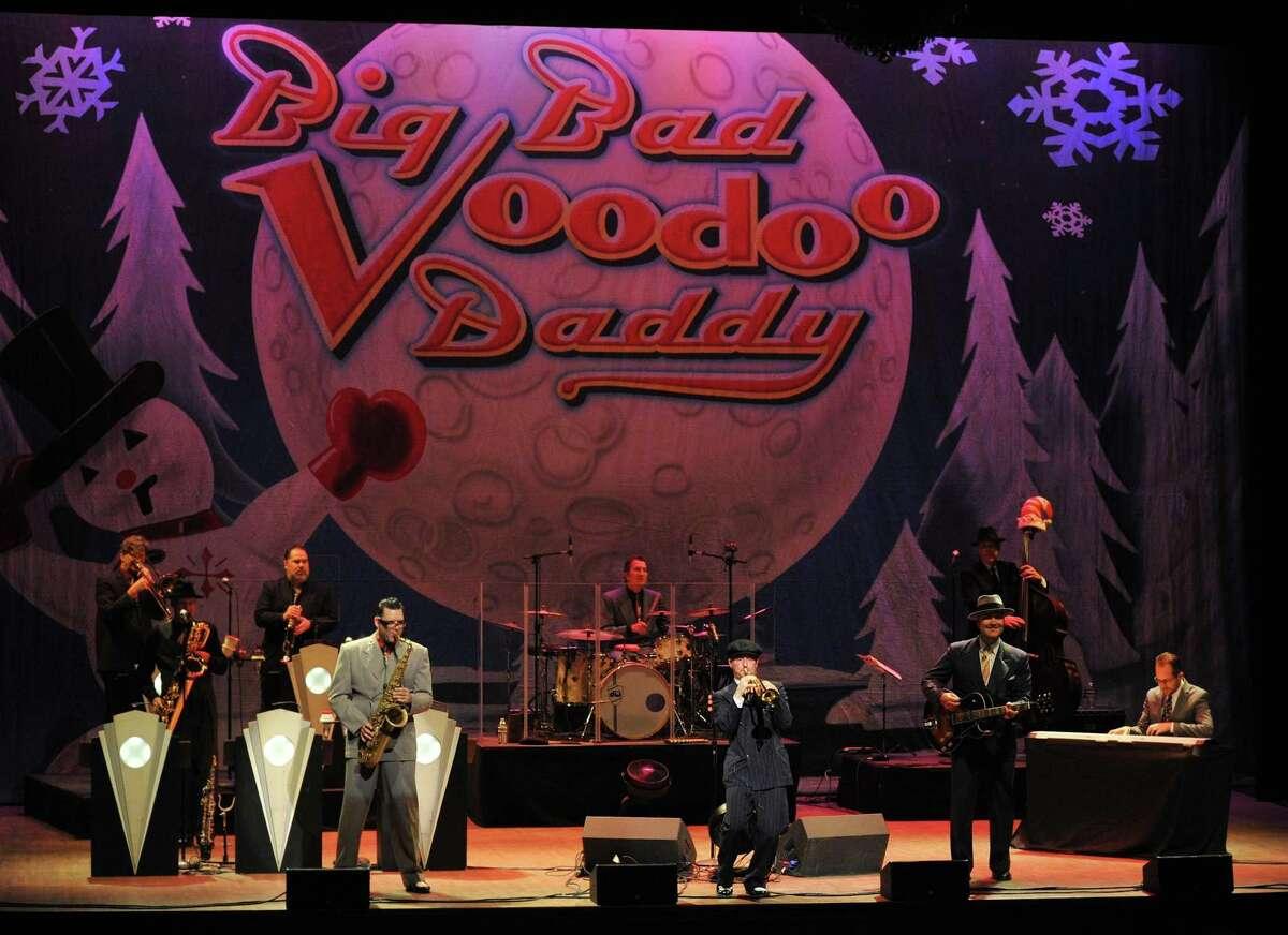 Big Bad Voodoo in concert.