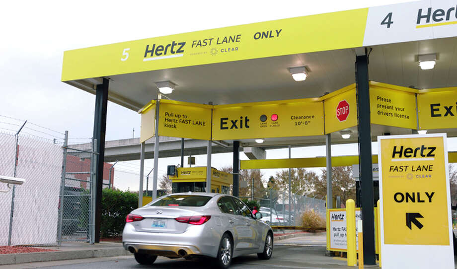 The Hertz Fast Lane - which scans your face at check out-- will be at 40 airport locations next year, including San Francisco. Photo: Hertz