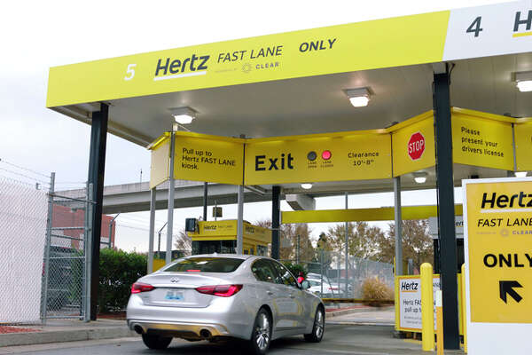 The Hertz Fast Lane will be at 40 airport locations next year, including San Francisco.