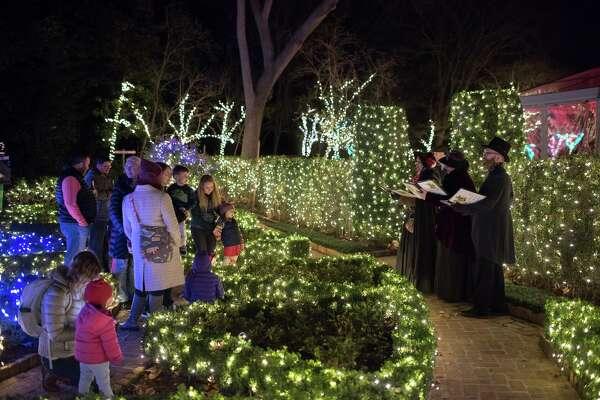 MFAH Bayou Bend Christmas Village