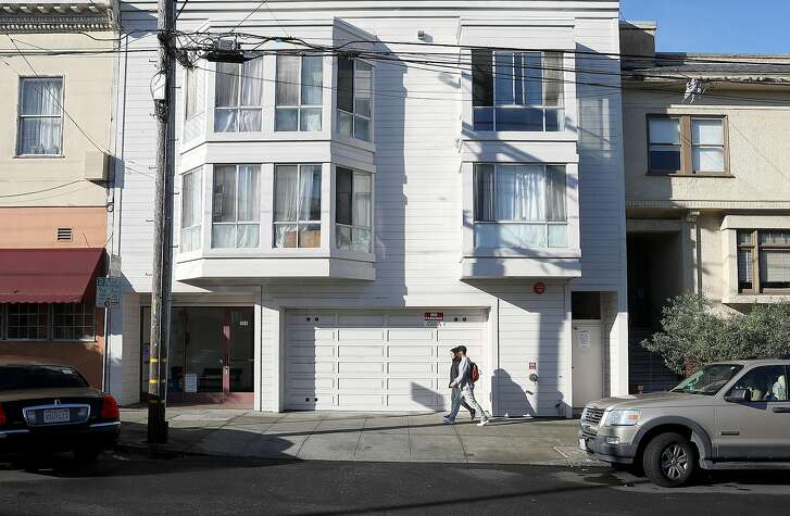 Mayor Ed Lee created a program to preserve affordable housing from being sold on the private market and accessed this building at 289 9th Ave. (middle) which he also set aside for people who were being priced out of Chinatown at the time and is seen on Tuesday, Dec. 11, 2018 in San Francisco, Calif.