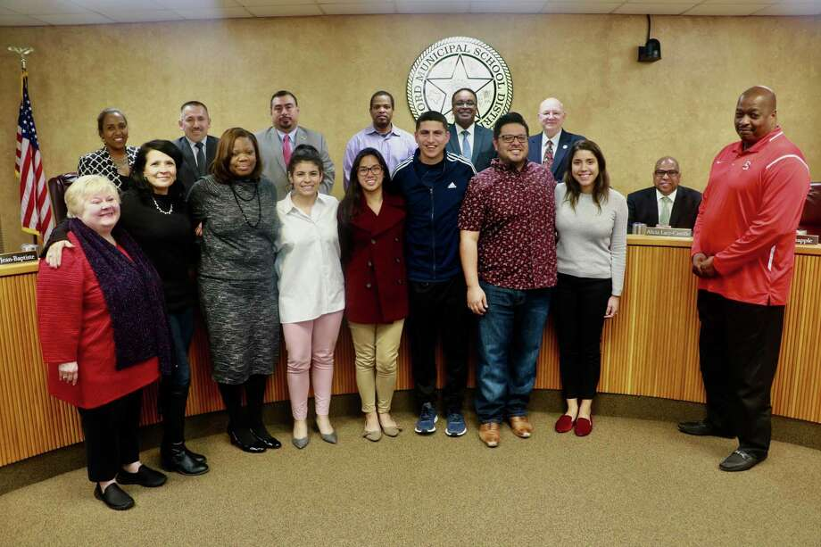 "The Stafford Municipal School District Board of Trustees voted 6-0 Monday, Dec. 10, to name the District's baseball field ""Michael Mesa Field."" Photo: Courtesy Photo"