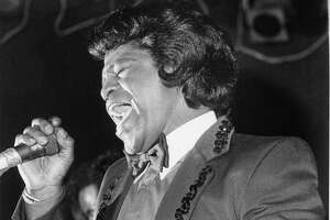 James Brown sounds an emotional note at Fitzgerald's in 1985.