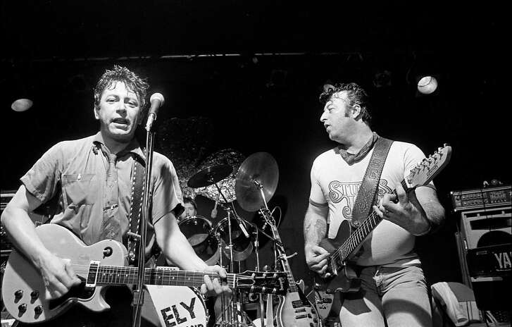 03/17/1982 - Joe Ely performs with The Joe Ely Band at Fitzgerald's, 2706 White Oak.