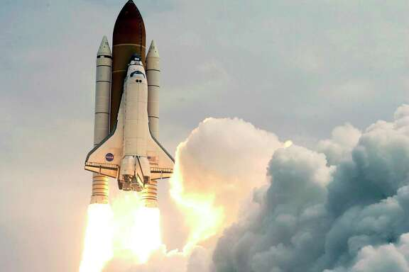 The space shuttle Atlantis lifts off from the Kennedy Space Center Friday, July 8, 2011, in the final mission of the 30-year shuttle program. Much remains unknown about the environmental effects of the launches.