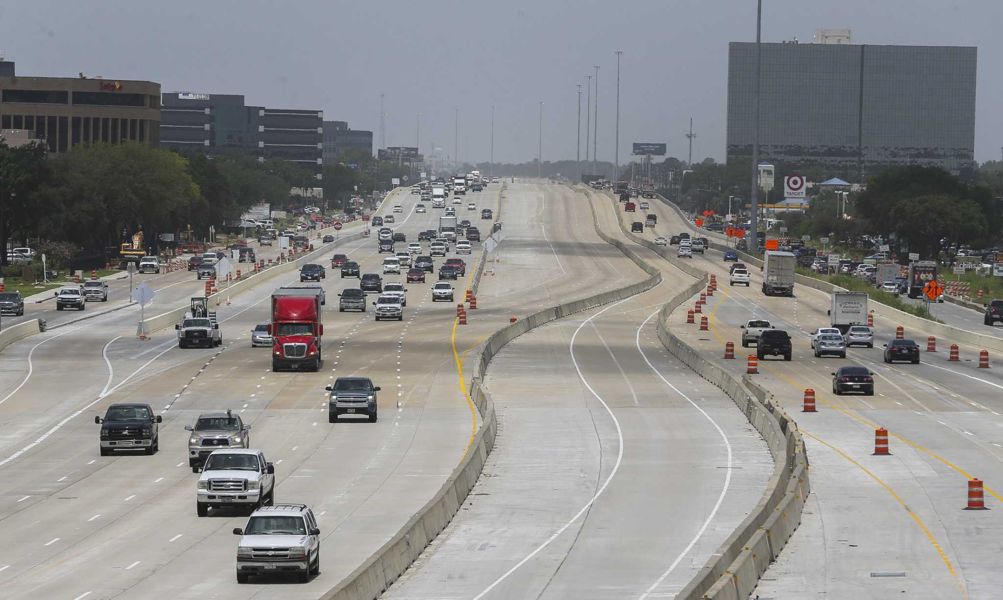 Seven more miles of the U.S. 290 HOT lane open Monday