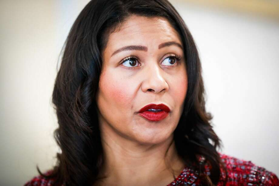 San Francisco Mayor London Breed. Photo: Gabrielle Lurie / The Chronicle