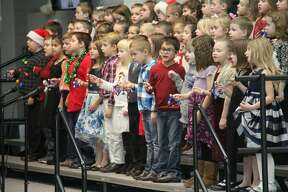 Laker Elementary School students in grades DK-2nd performed their Christmas Program, Tuesday evening.