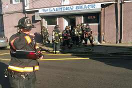 Around 2 p.m. on Dec. 10, 2018, Bridgeport, Conn., firefighters responded to The Laundry Shack at 672 Noble Ave. for a report of a fire. The laundromat is at the corner of Arctic and Hallett streets.