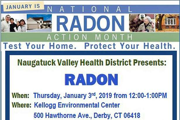 "Naugatuck Valley Health District will host a ?""lunch and learn?"" at the Kellogg Center at 500 Hawthorne Ave. in Derby, Conn., on Jan. 3, 2019, from noon to 1 p.m."