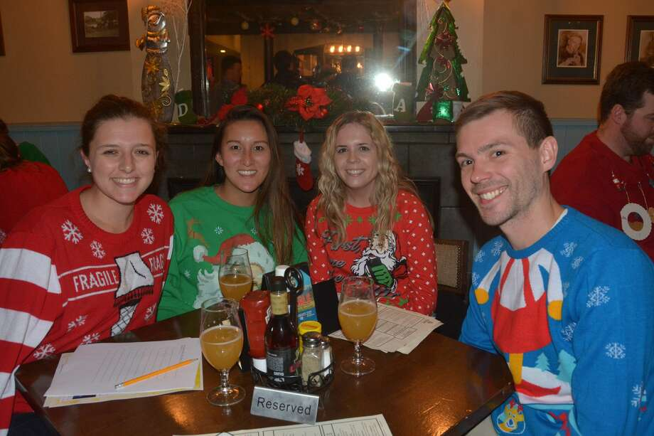 Two Roads Brewing Co. held an ugly sweater, trivia and tap takeover party at Tigin Irish Pub in Stamford on December 11, 2018. Were you SEEN? Photo: Vic Eng / Hearst Connecticut Media Group
