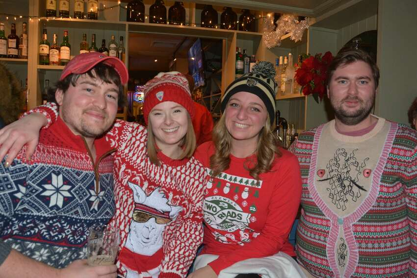Two Roads Brewing Co. held an ugly sweater, trivia and tap takeover party at Tigin Irish Pub in Stamford on December 11, 2018. Were you SEEN?