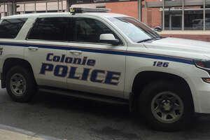 Colonie Police SUV