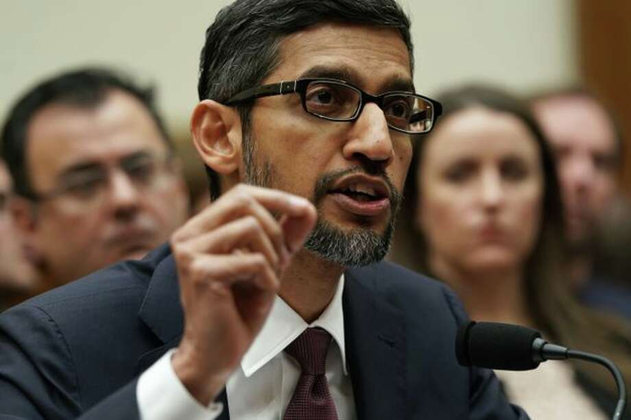 Google CEO Sundar Pichai answered a lot of questions about anti-conservative bias. Here are the top jobs that AI will eliminate >>>> Photo: Getty