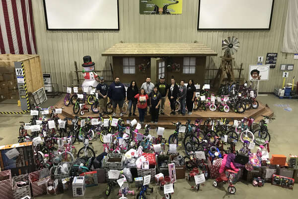 Walmart donated 93 bikes to The Salvation Army's Angel Tree Drive on Monday.