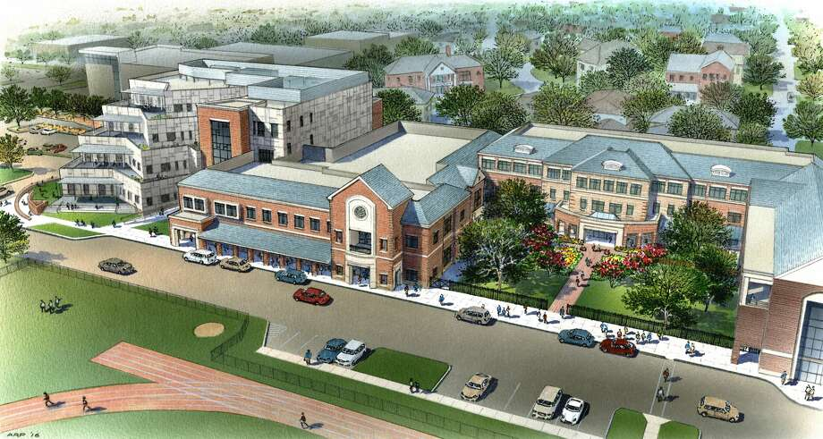 Construction has begun on a $65 million expansion of Houston's River Oaks Baptist School. 