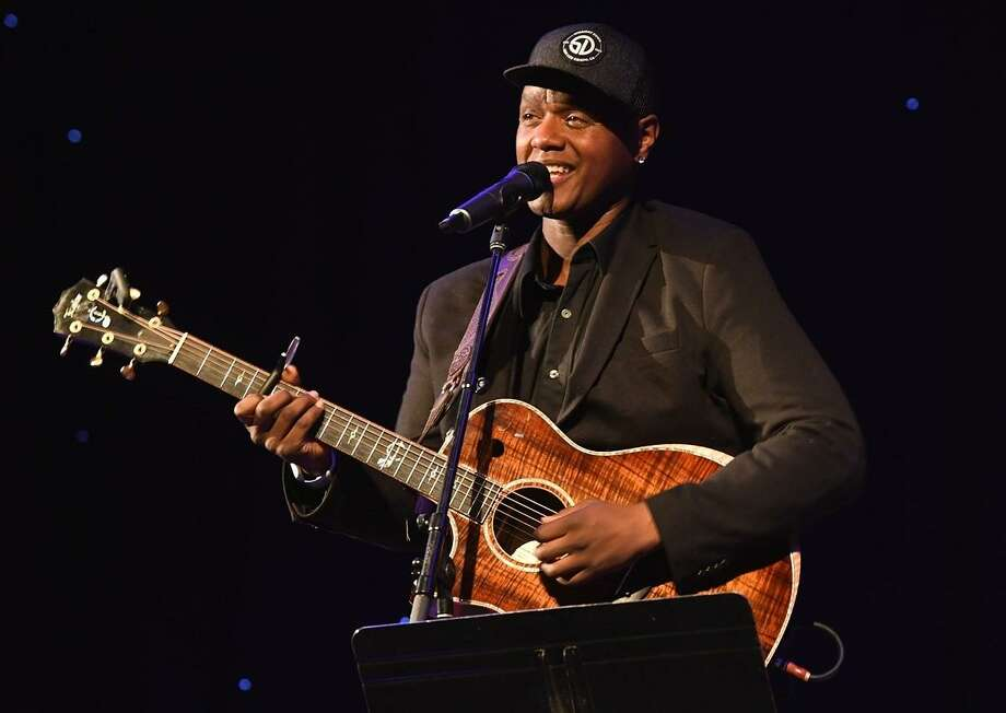 "Connecticut based musician Javier Colon performed to a packed house of friends, family and fans at the Infinity Music Hall in Hartford Dec. 1. The Hart School of Music graduate, known for his ""acoustic soul"" music, first gained recognition as the lead vocalist of The Derek Trucks Band in the late 90s. In addition to providing vocals for the Derek Trucks album ""Joyful Noise,"" Colon also toured with the band, which brought them to cities across the United States. Following a number of performances together, the singer, who had now risen in prominence, departed from the band in 2002 to focus on a solo career. Signing with Capitol Records, he released his debut studio album entitled, ""Javier"" (2003) the following year. Since then, he has gone on to release three more full length albums, ""Left of Center"" (2006), ""Come Through For You"" (2011), and ""Gravity"" (2016). Throughout his musical career, Colon has also released over a dozen singles. In 2011, Colon competed and won the NBC reality talent show, The Voice."" Hear him online at www.javiercolon.com Photo: John Atashian / Contributed Photo"