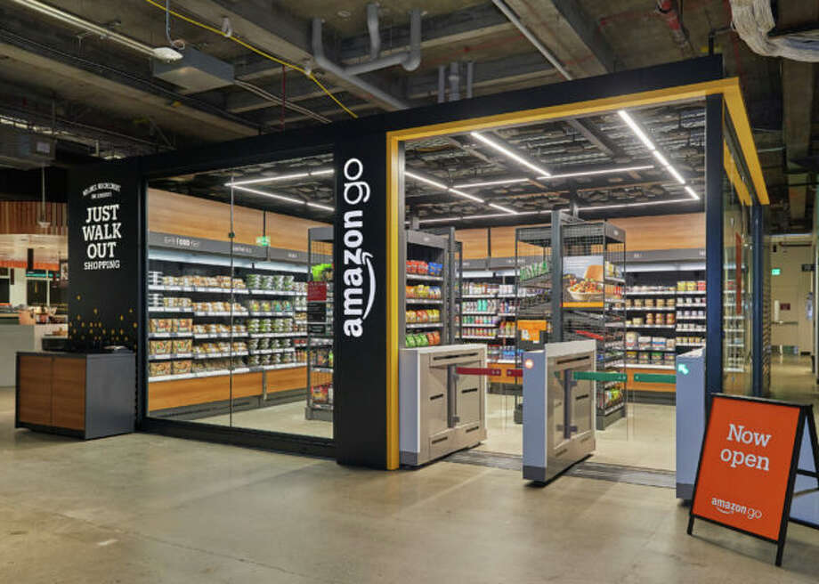 The new small-format Amazon Go store in Seattle. (Amazon Photo) Photo: Courtesy GeekWire