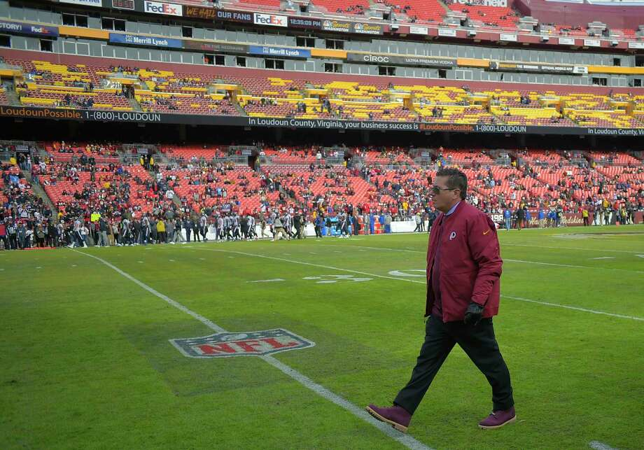 Redskins owner Dan Snyder during a November game against the Houston Texans  at FedEx Field. 16a21cff2