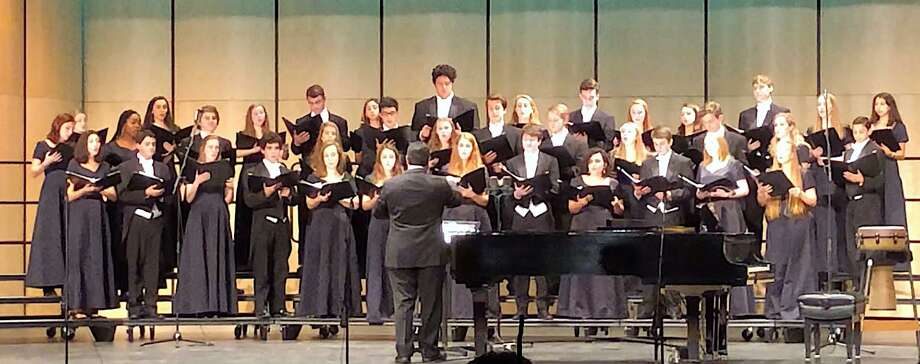 Darien High School Tudor Singers. Photo: /contributed Photo