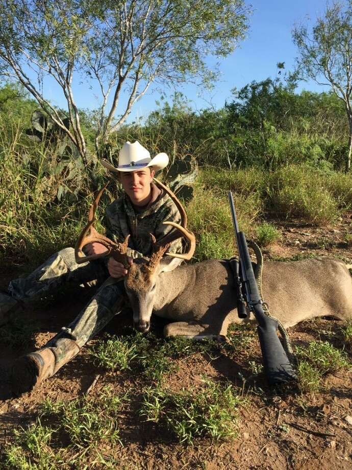 This 12 point South Texas buck is one to remember. Now the real work begins. Photo: Mike Scambray