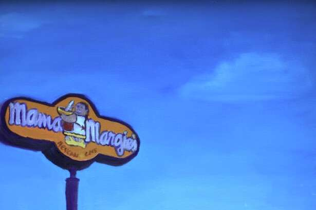 A San Antonio artist has created a six-piece restaurant series of watercolor paintings depicting popular Texas fast-food chains in idyllic landscapes.