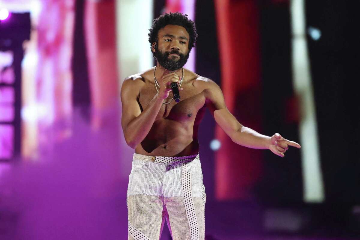 Childish Gambino, pictured earlier this year, made two Bay Area stops.