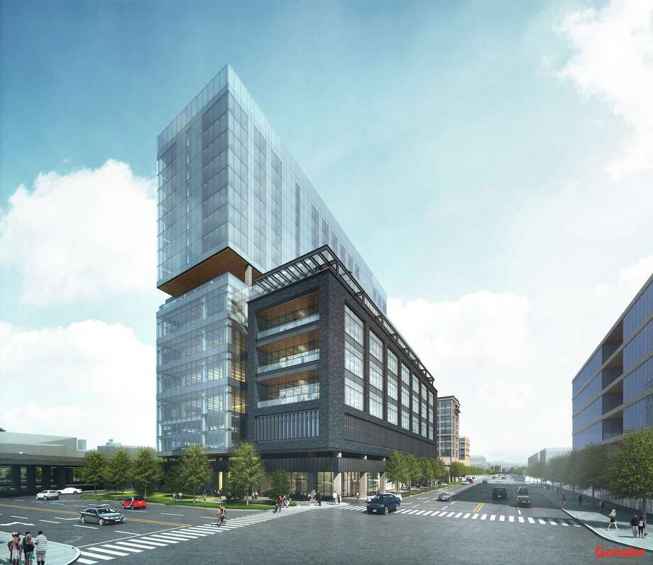 The nineteen-story mixed-use tower to be built at 1603 Broadway Street got permission from the City of San Antonio Dec. 5 to prepare the land for building. Photo: Courtesy Of Gensler
