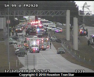 Deadly day in Houston: 5 dead in crashes throughout Harris County