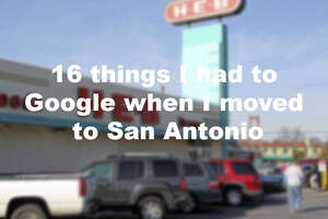 Click through the slideshow to see what people have Googled when moving to San Antonio.