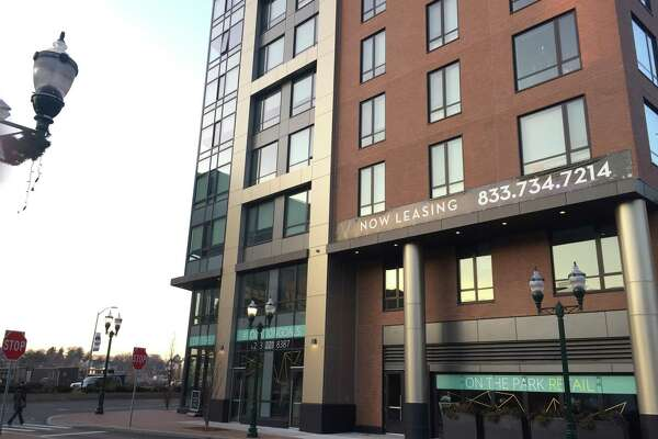 The Vela on the Park apartment building, at 1011 Washington Blvd., in downtown Stamford, has signed an office tenant for its ground floor.