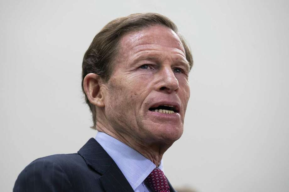 Sen. Richard Blumenthal (D-CT) speaks during a news conference to demand action for gun violence prevention, December 6, 2018 in Washington, DC. Photo: Drew Angerer / Getty Images / 2018 Getty Images