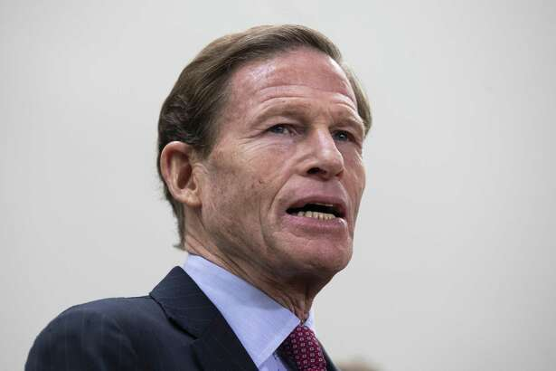 Sen. Richard Blumenthal (D-CT) speaks during a news conference to demand action for gun violence prevention, December 6, 2018 in Washington, DC.