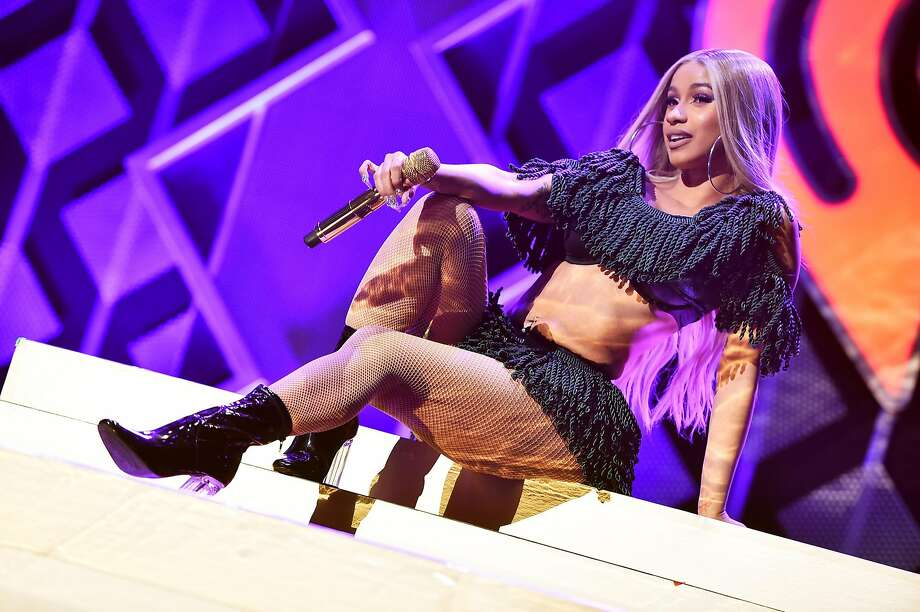 NEW YORK, NY - DECEMBER 07:  Cardi B performs at Z100's Jingle Ball 2018 at Madison Square Garden on December 7, 2018 in New York City. Photo: Theo Wargo, Getty Images For IHeartMedia