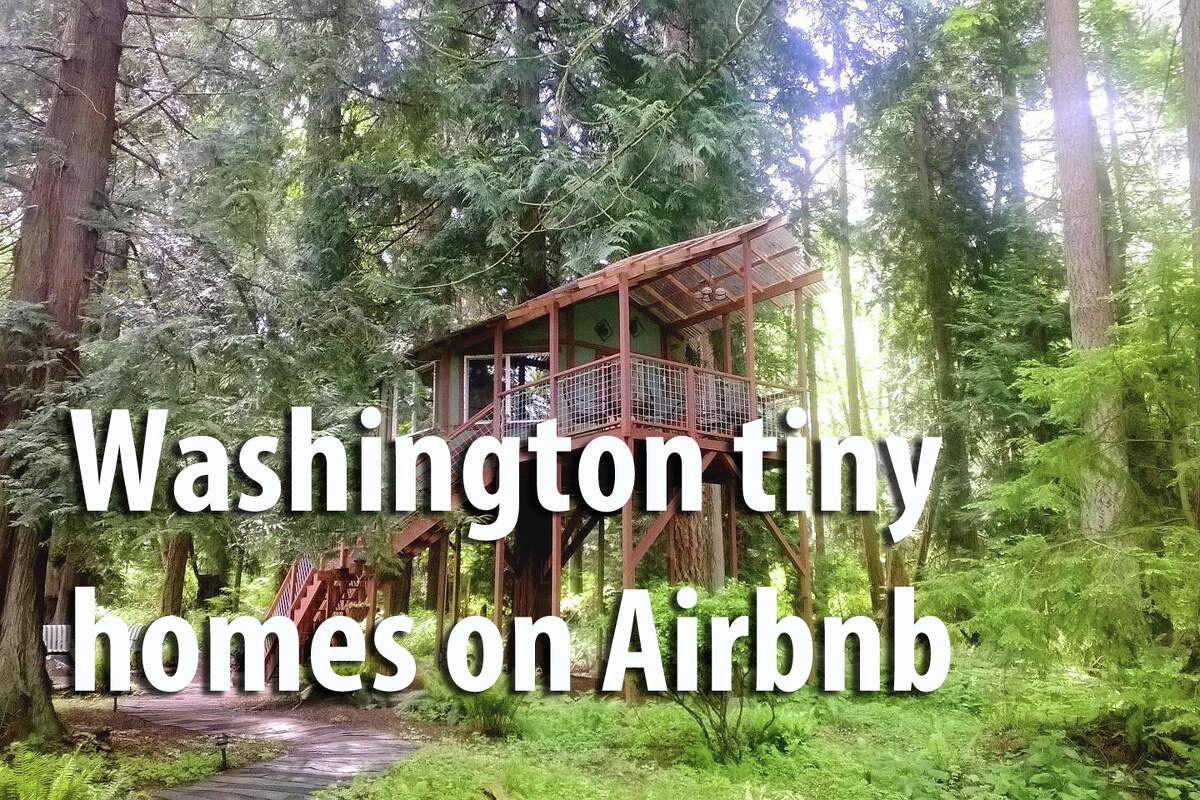 Tiny homes are up popularity, according to Airbnb booking data. Check out some special ones you can reserve now in Western Washington.