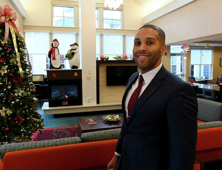 Shawn Hodges, general manager at the Residence Inn Albany Wednesday Dec. 11, 2018 in Albany, N.Y. (Skip Dickstein/Times Union)