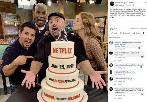 Comedian Gabriel Iglesias' Netflix special filmed in Houston set to