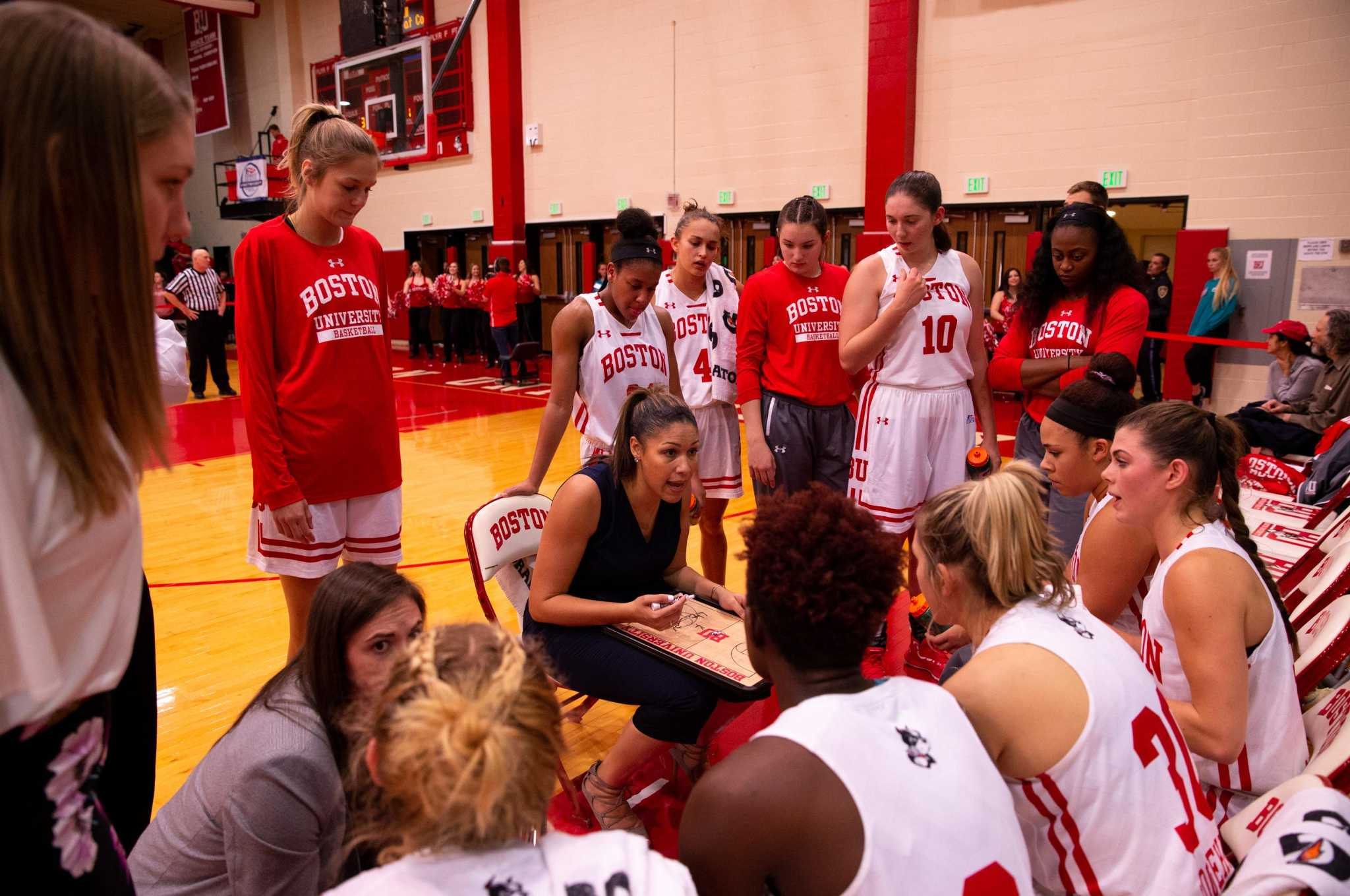 Former UConn assistant Marisa Moseley off to a winning start at Boston University