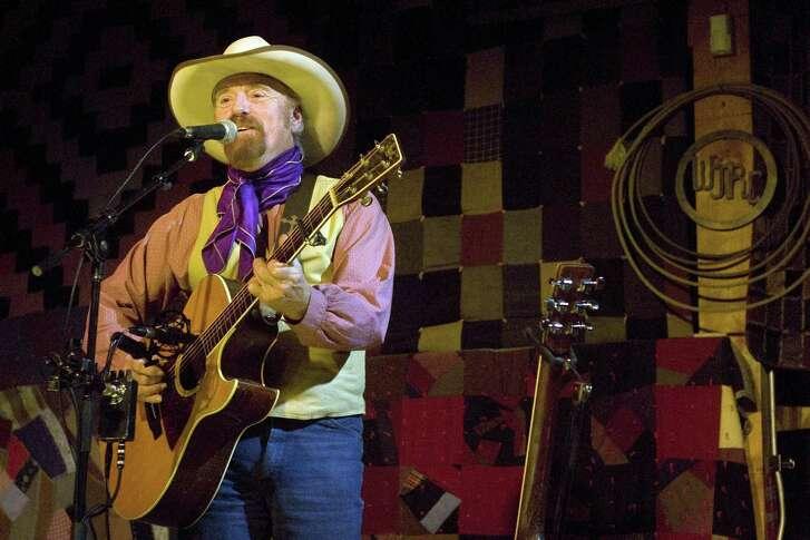 Michael Martin Murphey performing at the Western Jublilee in Colorado Springs, Colorado in 2008.