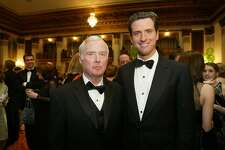 Judge William Newsom and his son Mayor Gavin Newsom were both honored at the 20th Anniversary of the American Ireland Fund. Mayor Gavin Newsom was honored at this dinner at the St. Francis Hotel. Deanne Fitzmaurice / The Chronicle