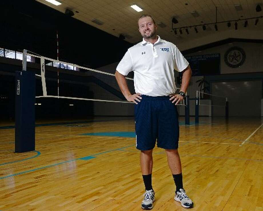 Vidor native and former Lamar State College-Port Arthur coach Jeremy White takes over as Southeastern Louisiana University's head volleyball coach. Photo: Jake Daniels/@JakeD_in_SE­TX