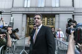 """Prosecutors say Michael Cohen, President Donald Trump's former lawyer, violated campaign finance laws on Trump's orders. How is this """"NO COLLUSION,"""" as the president tweeted?"""