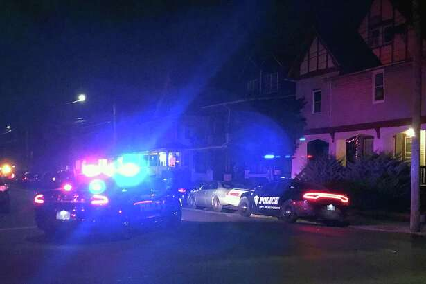Bridgeport, Conn., police units at the intersection of Beechwood Avenue and Norman Street on Dec. 12, 2018. There was a small explosion in a home on Beechwood Avenue.