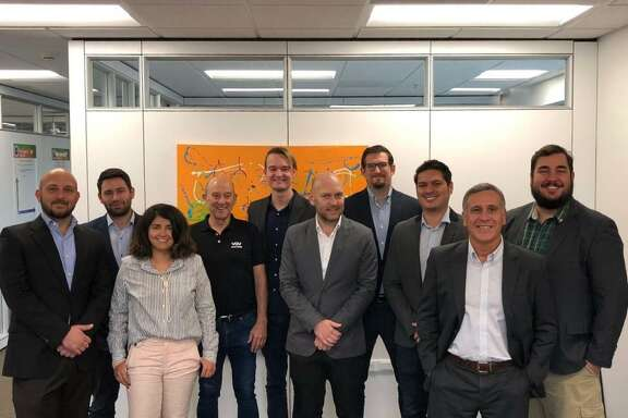The first group in VelocityTX's Global Accelerator program graduated Wednesday.